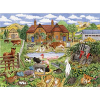 Alphabet Farm Yard 300 Large Piece Jigsaw Puzzle