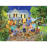 Marshmallow Roast 500 Piece Jigsaw Puzzle