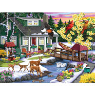 A Place In The Woods 1000 Piece Jigsaw Puzzle