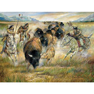 Guiding The Herd 1000 Piece Jigsaw Puzzle