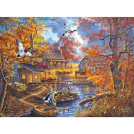 Bayou Haven 500 Piece Jigsaw Puzzle