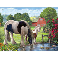 Hadlow Cricket Mare 300 Large Piece Jigsaw Puzzle