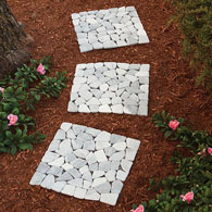Marble Stepping Stones