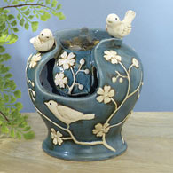 Ceramic Birds Fountain