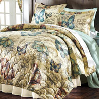 Butterflies In Flight Quilt Set