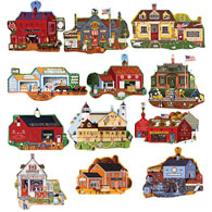 Jigsaw Puzzle Value Sets | Bits and Pieces