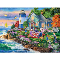 Lighthouse Picnic 500 Piece Jigsaw Puzzle