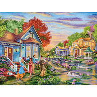 Welcome Neighbors 500 Piece Jigsaw Puzzle