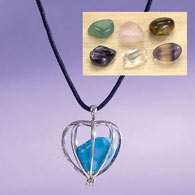 Seven Mood Gemstone Pendant