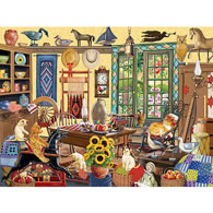 In Through The Open Door 300 Large Piece Jigsaw Puzzle