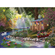 Butterfly Lake 300 Large Piece Jigsaw Puzzle