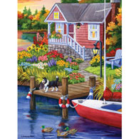 Lakeside Retreat 500 Piece Jigsaw Puzzle