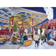 Coming Home For Christmas 300 Large Piece Jigsaw Puzzle