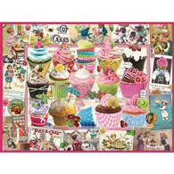 Cupcake Quilt 500 Piece Jigsaw Puzzle