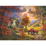Old Time Religion 500 Piece Jigsaw Puzzle
