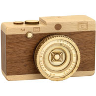 Wooden Camera Music Box- When You Wish Upon A Star