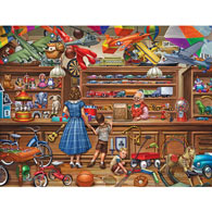 Vintage Toy Store 300 Large Piece Jigsaw Puzzle