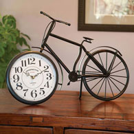 Vintage Kensington Station Bicycle Clock