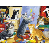 Studio Kittens 300 Large Piece Jigsaw Puzzle