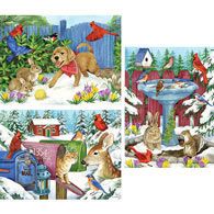 Set of 3: Jane Maday 1000 Piece Puzzles