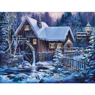 Winter Twilight 300 Large Piece Jigsaw Puzzle