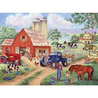 John's Farm 300 Large Piece Jigsaw Puzzle