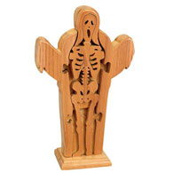 Skeleton Wooden Puzzle