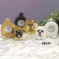 Westie Tail Wagging Clock