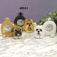 Yorkshire Terrier Tail Wagging Clock