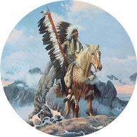 Path Of Dreams 300 Large Piece Round Jigsaw Puzzle