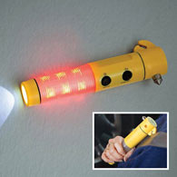 Emergency Auto Tool LED Flashlight