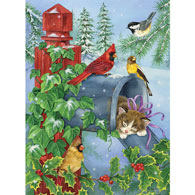 A Cozy Nap 1000 Piece Glitter Effects Jigsaw Puzzle