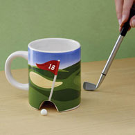 Golf At Daybreak Mug