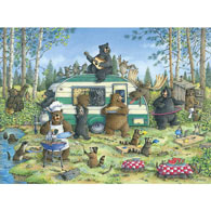 Happy Campers 1000 Piece Jigsaw Puzzle