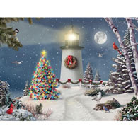 Coastal Holiday Lights 1000 Piece Jigsaw Puzzle