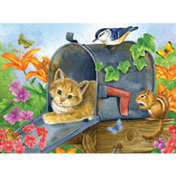 Waiting For The Mail 300 Large Piece Jigsaw Puzzle