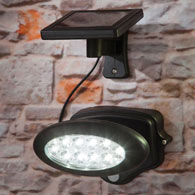 Light Where You Need It Motion Sensor Solar LED Spotlight