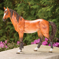 Large Thoroughbred Animal Garden Sculpture