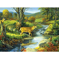 Four Of A Kind 300 Large Piece Jigsaw Puzzle
