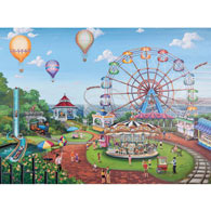 Carnival Day 1000 Piece Jigsaw Puzzle