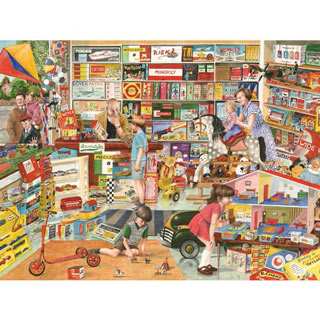 Toy Shop 500 Piece Jigsaw Puzzle