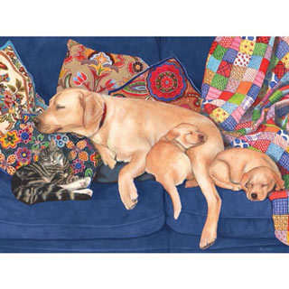 Snooze Time 300 Large Piece Jigsaw Puzzle