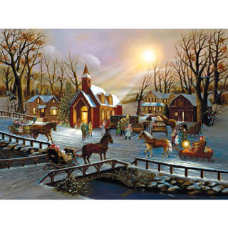 A Christmas Wish 300 Large Piece Jigsaw Puzzle