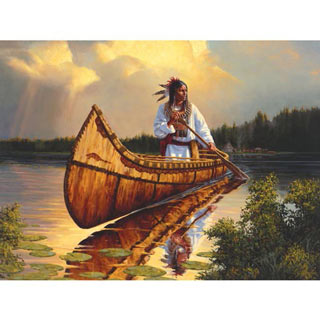 Tranquility 300 Large Piece Jigsaw Puzzle
