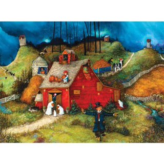 Uncle Brucie's Barn 300 Large Piece Jigsaw Puzzle