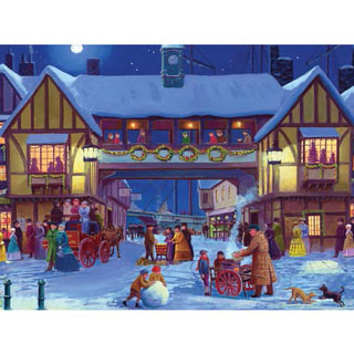 Holiday Arrival 300 Large Piece Jigsaw Puzzle