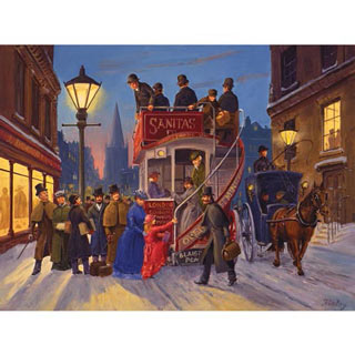Holiday Ride Home 300 Large Piece Jigsaw Puzzle