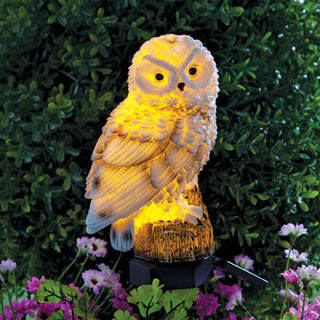 Owl Solar Light Stake
