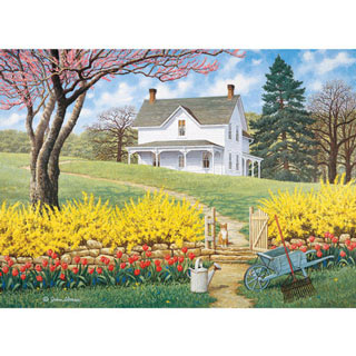 Spring Ahead 500 Piece Jigsaw Puzzle