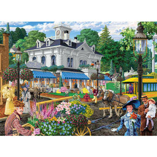 Victorian Spring 500 Piece Jigsaw Puzzle